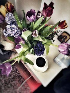 Ingredients for the perfect morning. #recharge #coffeeandflowers  #aliquidhugforyourbrain  #autocorrectformybrain
