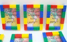 make a frame out of legos