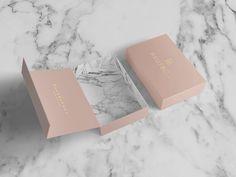 "Consulta este proyecto @Behance: ""Hautbox | Luxury Brand Identity + Packaging…"