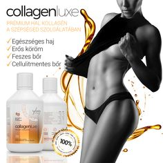 Collagen Luxe 10000 mg - folyékony halkollagén komplex Vitamins, Leather Pants, Leather Jogger Pants, Lederhosen, Vitamin D, Leather Leggings