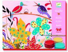 A PARTIR DE 7 AÑOS. Manualidad de DJCO con cuadros de motivos naturales que podrás pintar con acuarelas.