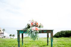 No matter which way you look at it, this wedding is a stunner. From the cliffside ceremony to the cocktails on the beach and right on through to the barn turned glamorous at the hands of Delicate Details and Toast Santa Barbara; this is a study in taking a rustic affair and infusing it with a whole lot…