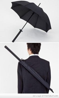 Ninja umbrella.  I had to use umbrella's, but if I had to this would be the one.