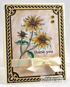 Black-Eyed Susan Digital Stamp Set | Power Poppy by Marcella Hawley
