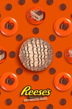 It's so good it will make your head spin. @reeses Reese's Ice Cream Cake, Reeses Ice Cream, Chocolate Ice Cream Cake, Chocolate Drizzle, Decadent Chocolate, Whipped Icing, Cake Servings, Peanut Butter Cups, Make It Yourself