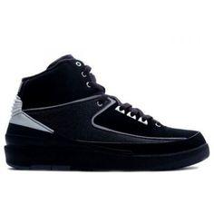 promo code 3206c 3014e Nike Air Jordan 2( II )Retro-Black Chrome-jordan shoes,nike shoes,adidas  shoes
