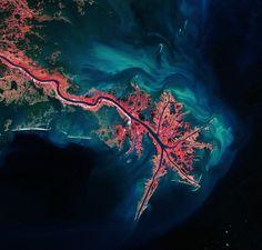 Missisipi River Delta, USA