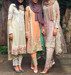 Eid mubarak to my homeland and the lovely people living their and around the globe . Pakistani Party Wear, Pakistani Couture, Pakistani Outfits, Indian Outfits, Pakistani Clothing, Modesty Fashion, Muslim Fashion, Hijab Fashion, Indian Fashion
