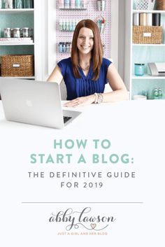 Learn how to start a blog in 2019 with this easy to follow step by step guide! | #blogging #startablog #onlinebusiness #blog #howtoblog