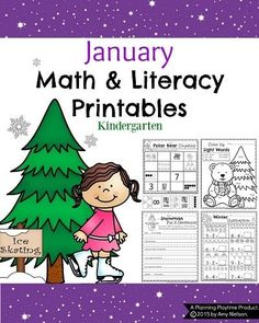 Step up the learning fun with these awesome January Kindergarten Worksheets. Math, Grammar, Reading, Writing, and so many more engaging learning activities.