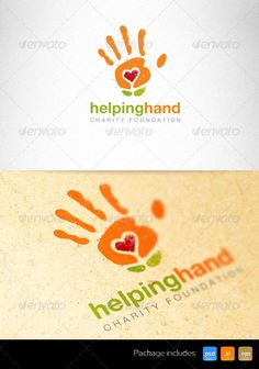 Helping Hand Charity Foundation Creative Logo