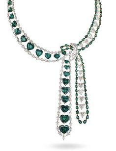 Chopard Collection Emerald Necklace