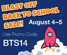 TPT is throwing a site wide sale - 10% off all products!! Use the code and take advantage of the greatest products to start you off in September!! Check out our site at teachingrocks.ca and click the link on our latest post to take you to our store where we are offering an addtional 15% off all our products!! Don't miss out!