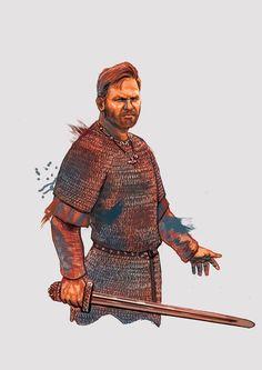 Character Portraits, Character Art, Male Portraits, My Fantasy World, Fantasy Art, Armor Concept, Concept Art, Historical Art, Iron Age