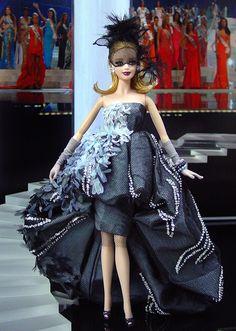 OOAK Barbie NiniMomo's Miss Slovenia 2011