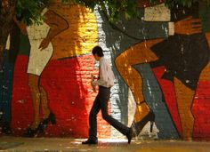 Tango Wall, Buenos Aires, Argentina