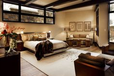 Amazing Master Bedroom Decorations With Best Lighting For Perfect Look: Fake Flower Master Bedroom Decorations With Best Lighting Modern Sofa ~ ootgo.com Bedroom Designs Inspiration
