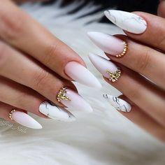 """Fantabulous Pointy Nails Designs You Would Love to Have See more: #nails explore Pinterest"""">… - #nails #long #longnails"""