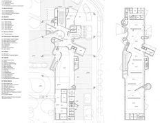 "Preliminary Research Office, ""Bulging Wall(s): Bauhaus Museum Dessau."" Floor plans."