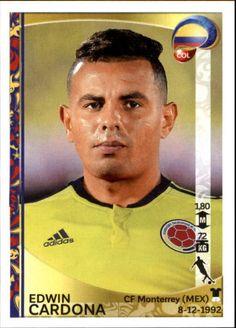2016 Panini Copa America Centenario Stickers #55 Edwin Cardona
