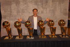Bulls championship trophies
