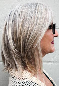 Image result for transitioning to grey hair