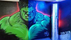 Projekt: Hulk bei Tag und Nacht