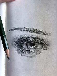 Need some drawing inspiration? Well you've come to the right place! Here's a list of 20 amazing eye drawing ideas and inspiration. Why not check out this Art Drawing Set Artis… Easy Eye Drawing, Anime Face Drawing, Easy Pencil Drawings, Realistic Eye Drawing, Drawing Tutorials For Beginners, Pencil Drawing Tutorials, Art Drawings Sketches, Drawing Ideas, Drawing Tips
