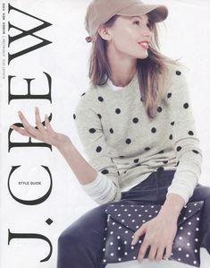 spot on. Love this polka dot sweater J Crew Style, My Style, J Crew Catalog, Dots Fashion, Polka Dot Sweater, Couture, Autumn Winter Fashion, Fashion Fall, Fall Winter