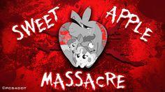 See more 'Sweet Apple Massacre (My Little Pony Fanfiction)' images on Know Your Meme! My Little Pony Fanfiction, Mlp Creepypasta, Know Your Meme, My Little Pony Friendship, Fire Emblem, Hedgehog, Neon Signs, Apple, Fan Fiction