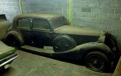 1937 Lagonda barn-find...