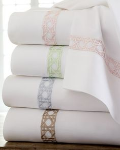 Shop luxury bed sheets at Horchow. Browse our selection of high thread-count sateen sheets, Egyptian cotton sheets, and more. Luxury Bed Sheets, Luxury Bedding Sets, Modern Bedding, Linen Bedroom, Linen Bedding, Bed Linens, Bed Linen Sets, Duvet Sets, Cheap Bed Linen