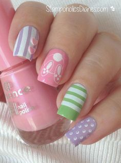 Nails pastel Easter Nails Essence the gel nail polish, MoYou . Easter Nails Essence o esmalte gel, MoYou . Nail Art Designs, Easter Nail Designs, Easter Nail Art, Polish Easter, Seasonal Nails, Holiday Nails, Essence Gel Nail Polish, Gel Polish, Jolie Nail Art