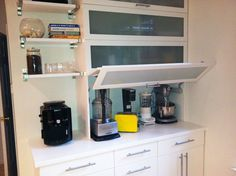Dedicate a Cabinet to Countertop Appliances