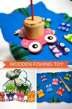 Baby Gift Toddler Gift Toy Baby Toy for Boy Toy for Girl Birthday Toy Eco Friendly Toy Fishing Toy Fishing Game Birthday Toy Gift Frogs Toy #fishinggame #fishingtoy #sensory #sensorytoy #sensoryactivity #sensoryplay #pretendplay