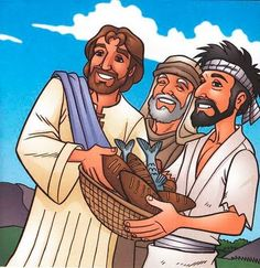 BUENAS NOTICIAS PARA LOS NIÑOS: Jesús alimenta a la multitud