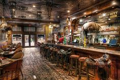 Stockyards Saloon | Fort Worth Texas | Stockyards Hotel~ I went there and sat on the first saddle by the front door.