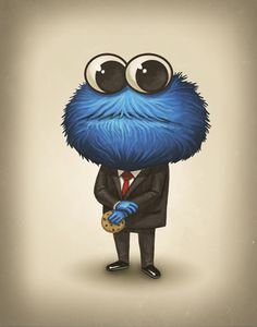 Sen. C Monster (R) - by Mike Mitchell
