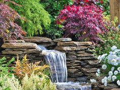 Wasserfall en miniature