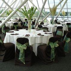 Yes, I'm just like any other crazy bride & HAS to change their mind 100 times before the big day!  So, have decided to change the color scheme for the reception like the pic, but, going to put sage tabletoppers & thinking of bright pink, orange, or orchid purple napkins. to contrast with the earthiness of the dark brown & sage.  Any opinions yay or nay out there?  I'd love any feedback good or bad!  Thanks & happy pinning!