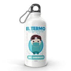 Termo - El termo del mejor instrumentador quirúrgico, encuentra este producto en nuestra tienda online y personalízalo con un nombre. Water Bottle, Carton Box, Store, Crates, To Sell, Teeth, Water Bottles
