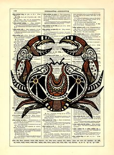 Cancer Astrology Zodiac Crab