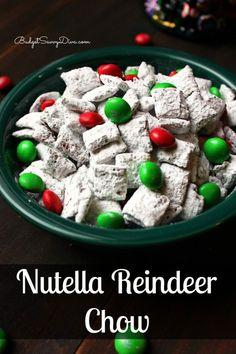 Nutella Reindeer Chow
