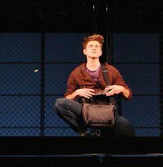 Aaron Tveit in Next to Normal (2009).