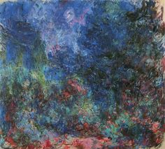 1922-24 Monet The house seen from the rose garden(Marmottan)(89 x 100 cm)