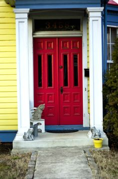 Red Door - Colorful Front Doors