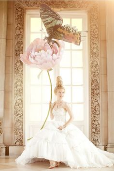 One of my more favorite bridal editorial shoots.  Brides Magazine December 2010