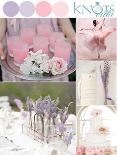 Lavender Pink Wedding Inspiration - KnotsVilla