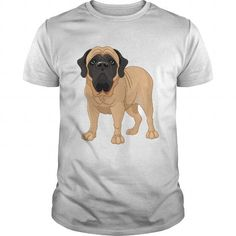 Awesome Mastiff Lovers Tee Shirts Gift for you or your family your friend:  English Mastiff Dog Drawing Tee Shirts T-Shirts