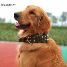 SYDZSW Large Dog Collar Nylon Double Buckle Four Layer Thicken Pet Collar for Labrador Golden Retriever Durable Big Dog Products #Affiliate